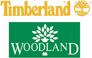 Timberland and Woodland logos
