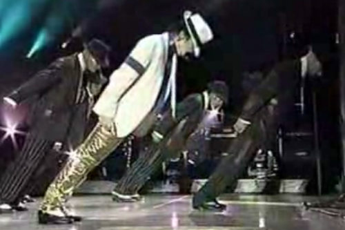 Michael Jackson patented special shoes to perform his signature 'Smooth Criminal' lean.