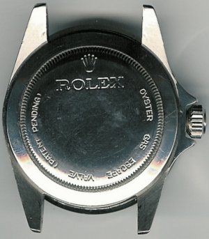 This Rolex watch has patent pending status.